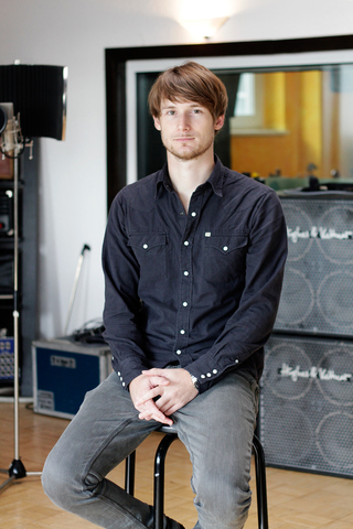 Eike Freese, music producer, for «Szene Hamburg»